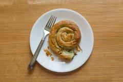 Petit pain d'épinards Photo libre de droits