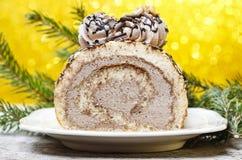 Petit pain d'éponge de Noël Photographie stock libre de droits
