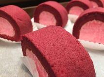 Petit pain d'igname de myrtille Image stock