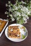 Petit pain de banane et de carotte Photographie stock libre de droits
