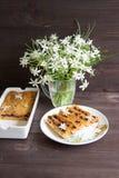 Petit pain de banane et de carotte Photos libres de droits