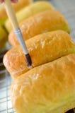 Petit pain de beurre Photographie stock libre de droits