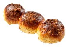 Petit pain de calorie avec des noix photo libre de droits