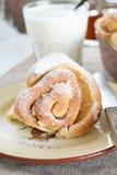 Petit pain de cannelle Image libre de droits