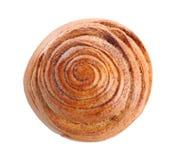 Petit pain de cannelle doux images stock