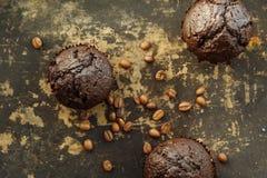 Petit pain de chocolat images stock