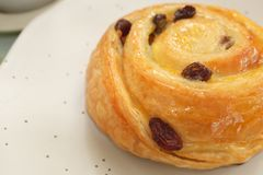 Petit pain de Cinnamin Photographie stock