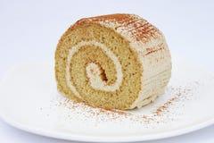 Petit pain de crème à café Photo stock