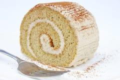 Petit pain de crème à café Images libres de droits