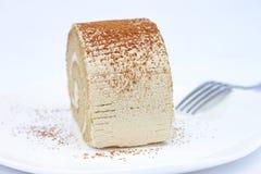 Petit pain de crème à café image libre de droits