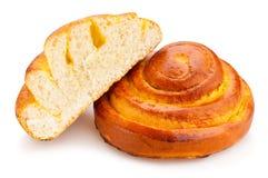 Petit pain de fromage blanc photo libre de droits