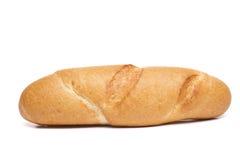 Petit pain de hot dog d'isolement Photos stock