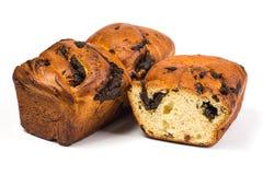 Petit pain de levure avec un pavot oblong Photographie stock libre de droits