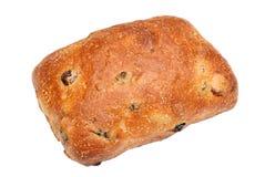 Petit pain de pain avec des raisins secs et des groseilles Images libres de droits