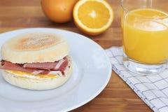 Petit pain de petit déjeuner Photographie stock