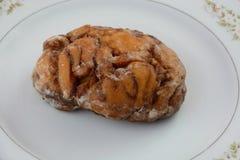 Petit pain de petit déjeuner de sucre de cannelle Photographie stock libre de droits