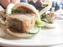 Petit pain de porc Photographie stock libre de droits