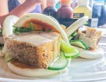 Petit pain de porc Photo stock