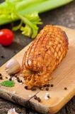 Petit pain de poulet Photographie stock libre de droits