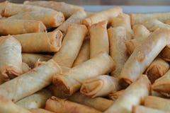 Petit pain de ressort végétal de style de Chineese photos stock