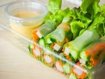 Petit pain de salade Photographie stock