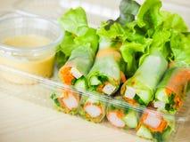 Petit pain de salade Images stock