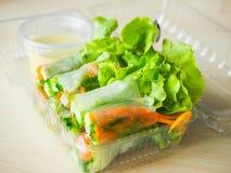 Petit pain de salade Image libre de droits