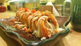 Petit pain de saumons d'Aburi Photos libres de droits