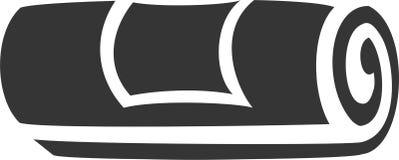 Petit pain de serviette avec le label Images libres de droits