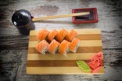 Petit pain de sushi Images stock