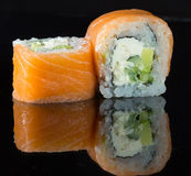 Petit pain de sushi Photo stock