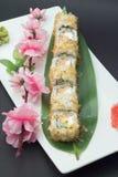Petit pain de sushi de Bonita Photos stock