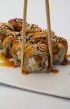 Petit pain de sushi de Canada Photo stock
