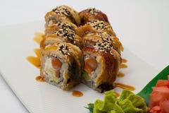 Petit pain de sushi de Canada Photo libre de droits