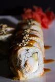 Petit pain de sushi de Canada Images libres de droits