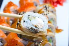 Petit pain de sushi de Canada Images stock