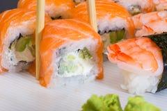 Petit pain de sushi de Philadelphie Images stock
