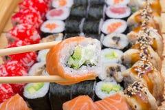 Petit pain de sushi de Philadelphie Photo libre de droits