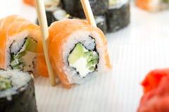 Petit pain de sushi de Philadelphie Image libre de droits