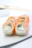 Petit pain de sushi de Philadelphie Photos stock