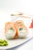 Petit pain de sushi de Philadelphie Images libres de droits