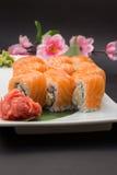 Petit pain de sushi Philadelphie Photo libre de droits