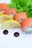 Petit pain de sushi Philadelphie Image libre de droits