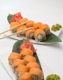 Petit pain de sushi Philadelphie Photo stock
