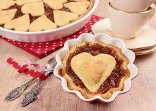 Petit pain de tarte aux pommes Images libres de droits