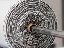 Petit pain de tissu Photographie stock libre de droits