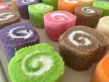 Petit pain doux de couleur de variété Photographie stock libre de droits