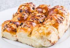 Petit pain doux fait maison II Photo libre de droits