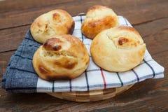 Petit pain fait maison Photographie stock