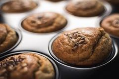 Petit pain frais dans la casserole Photographie stock